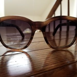Elizabeth and James brown marl tortoise sunglasses